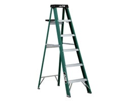 Heavy-Duty Fibreglass Stepladder 6 ft. Grade 2