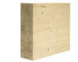 Poutre en bois lamellé-collé NORDIC LAM 51/2pox117/8pox24pi