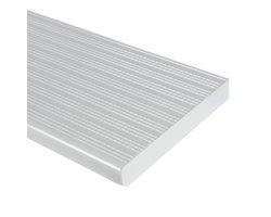 Marche en aluminium blanc 48 po