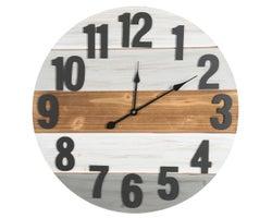 Horloge 23 po