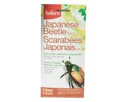 Appât pour scarabées Japonais (3 sacs)