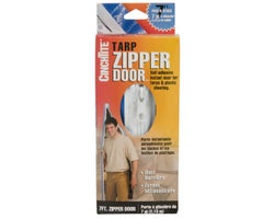Tarp Zipper Door- 7 ft.