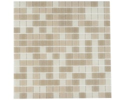 Sand Glass Mosaic 13 in. x 13 in.