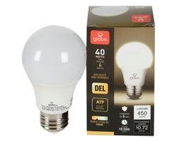 Ampoule DEL A19 Blanc chaud 6 W