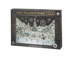Winter Village Puzzle (1000 pieces)