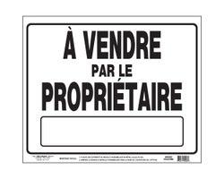 Pancarte À vendre par le propriétaire19 po x 24 po