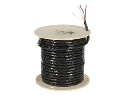 Exterior Electrical Wire, NMW-U - 8/3 Black, (Bulk)