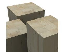 Colonne en bois lamellé-collé NORDIC LAM 51/2pox51/2pox20 pi