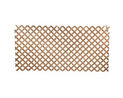 Treated Wood Regular Lattice Brown4 ft. x 8 ft.