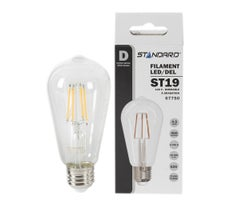 ST19 Clear LED Light Bulb 4.5W