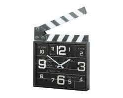 Clapperboard Clock