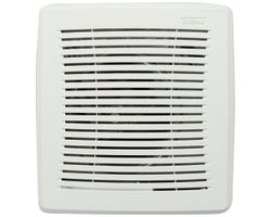 Replacement grille for bathroom fan