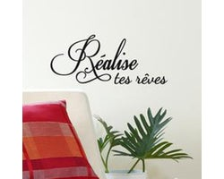 Decorative Wall Stickers Réalise tes rêves
