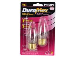 Ampoules chandelle incandescentes 40 W(Paquet de 2)