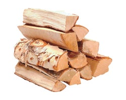 Wood Logs 3/4 ft³