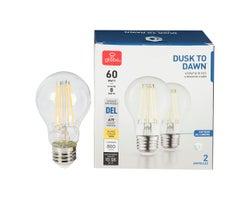 Ampoule DEL A19 Blanc chaud 8 W (Paquet de 2)