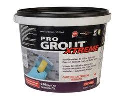 Coulis époxy & Mortier Pro Grout Xtreme 1L Argent