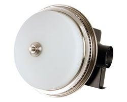 Ventilateur de salle de bains avec éclairage 110 pi³