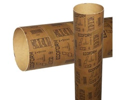 Cardboard Tube for Concrete 10 in. x 12 ft.