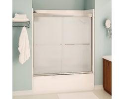 Aura Bathtub Door 55 in. (Frosted glass)