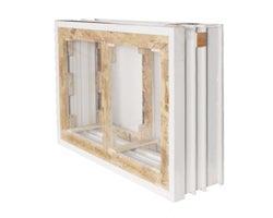 Cadre pour fenêtre de fondations 48 po x 24 po x 8 po (2 sections)