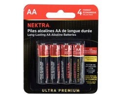 Ultra Premium Batteries AA (4-Pack)