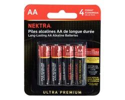 Piles Ultra Premium AA (Paquet de 4)