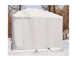 Toile hivernale pour abri-soleil 10pix10pi