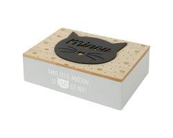 Boîte décorative Minou