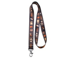 Dog Leash Keychain