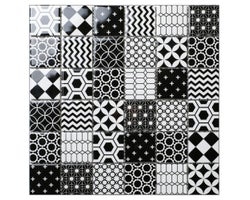 Pixo Ceramic Mosaic 12 in. x 12 in.