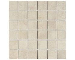 Beige Ceramic Mosaic 12 in. x 12 in.