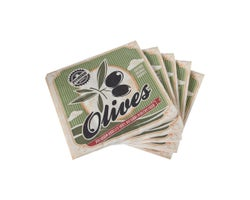 Serviettes de table Olives (Paquet de 20)