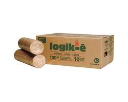 Bûches écologiques Logik-ê 3 lb (Boîte de 10)