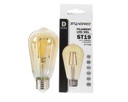 ST19 Amber LED Light Bulb 4.5W
