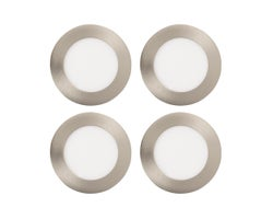 Ultra Thin LED Recessed Lights 4 in. X 1/2 in. 4-packs