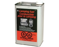 Combustible pour le camping