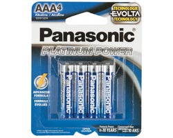 Panasonic Batteries AAA (4-Pack)