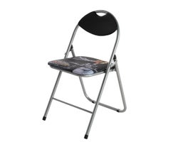 Times Square Cushioned Folding Chair