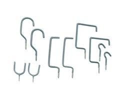 Ensemble de 10 crochets de rangement