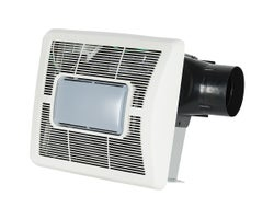 Bathroom Fan with Light70 CFM