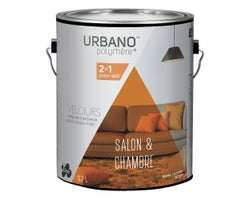 Urbano Polymer+ Living Room & Bedroom Latex Paint NaturalWhite&Colours3.7L