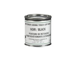 Exterior Siding Touch-Up Paint Black 284ml