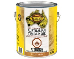 Australian Timber Oil Wood Finish Honey Teak 3.78 L
