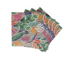 Table Napkins Flower of Paradise (20-Pack)