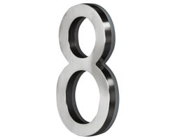 5 in. LED Backlit House Number # 8