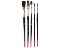 Set of 5 Artist Brushes