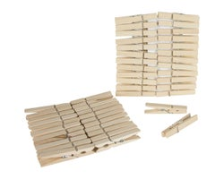 Wooden Clothespins (48-pack)