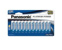 Piles Panasonic AA (Paquet de 24)