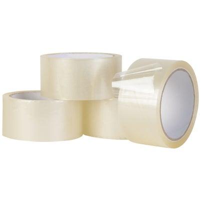 Rubans d'emballage 48 mm x 50 m (Paquet de 4)